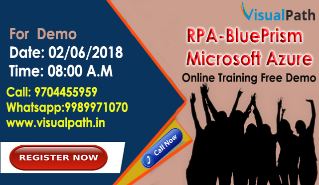 RPA-BluePrism and Microsoft Azure Online Training by Visualpath