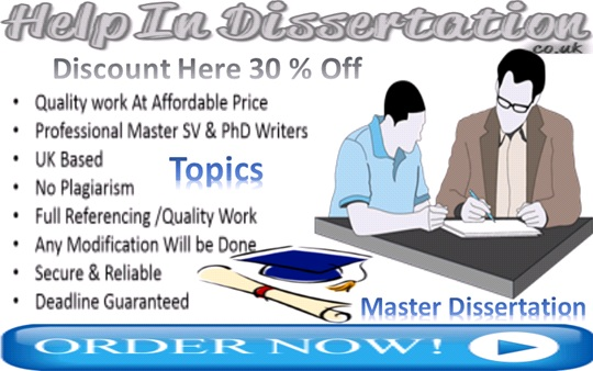 Masters dissertation topics with Students