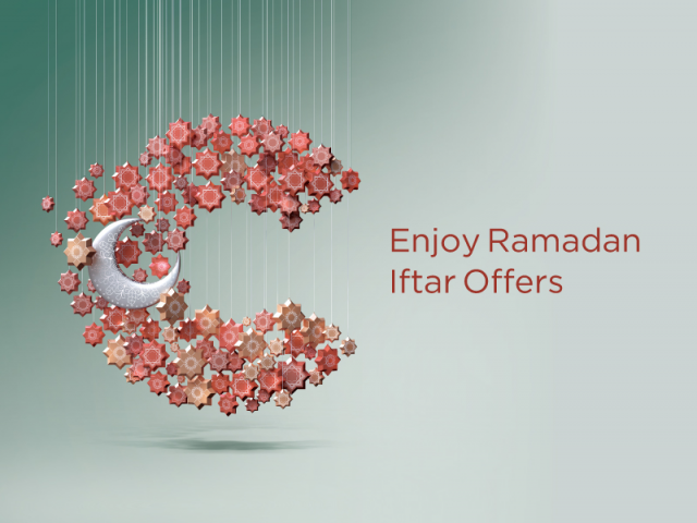 ENJOY RAMADAN IFTAR OFFERS