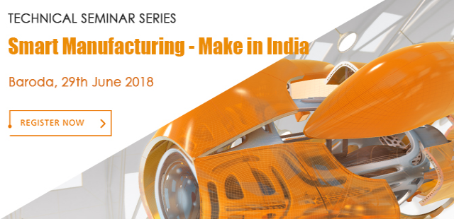 Technical Seminar On Smart Manufacturing Make in India at Baroda