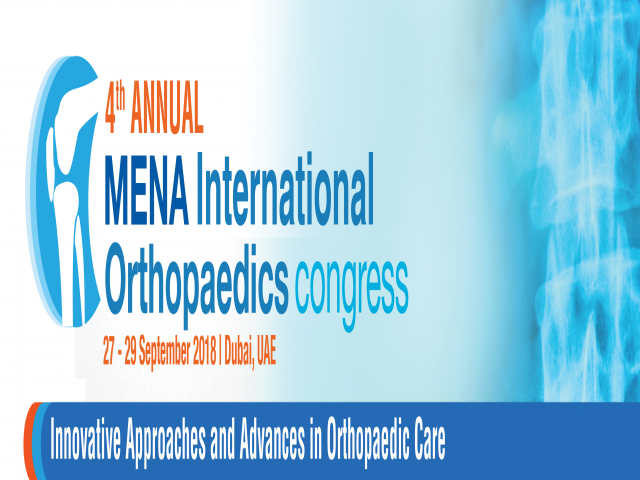 The Fourth Annual MENA International Orthopaedic Congress
