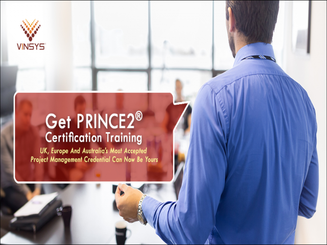 PRINCE2 Foundation Certification Training Course in Bangalore by Vinsys.