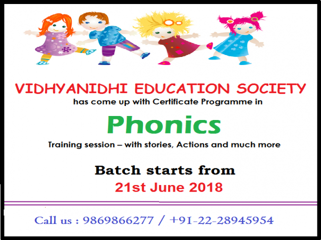 Phonics Training Programme