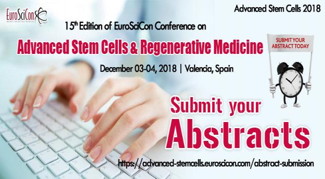 Top Stem Cell Conferences and Regenerative Medicine Conferences 2018 in Valencia
