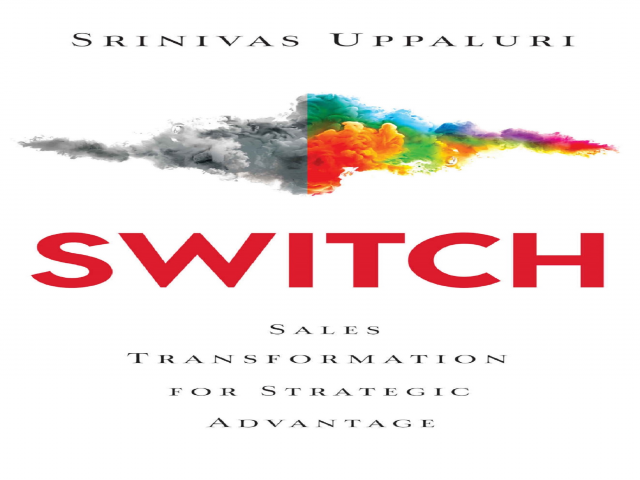 Leadership Coach Srinivas Uppaluri to launch his book SWITCH in Bengaluru