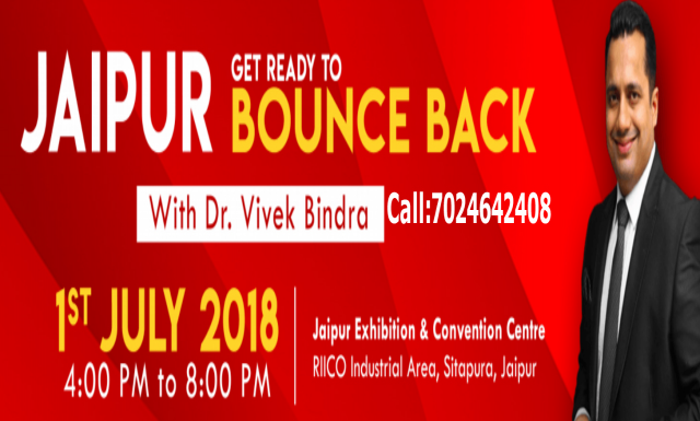 Bounce Back Extreme Motivation And Peak Performance Event By Dr.Vivek Bindra