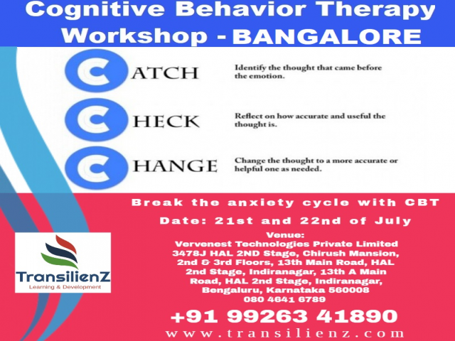 CBT Workshop at Bangalore