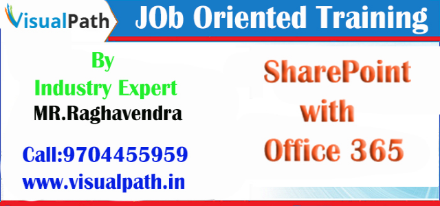 Office 365 with Sharepoint Training in Hyderabad