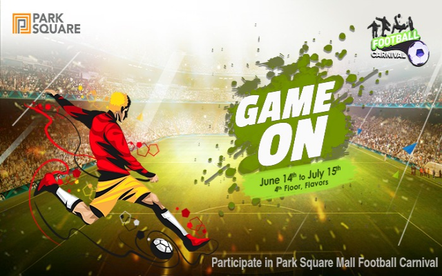 Football Carnival at ParkSquare Mall