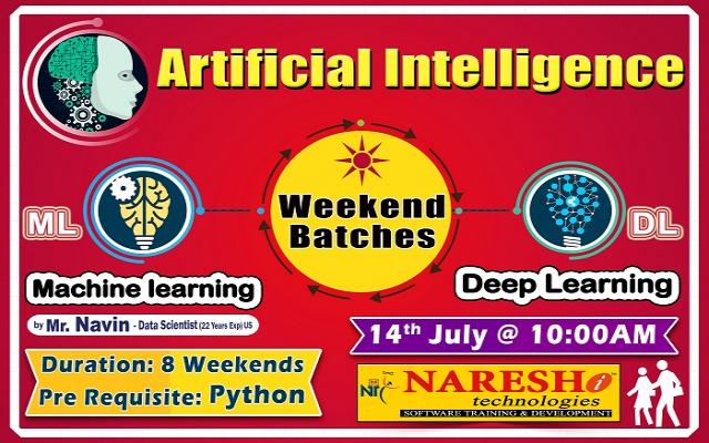 Artificial Intelligence Training - NareshIT