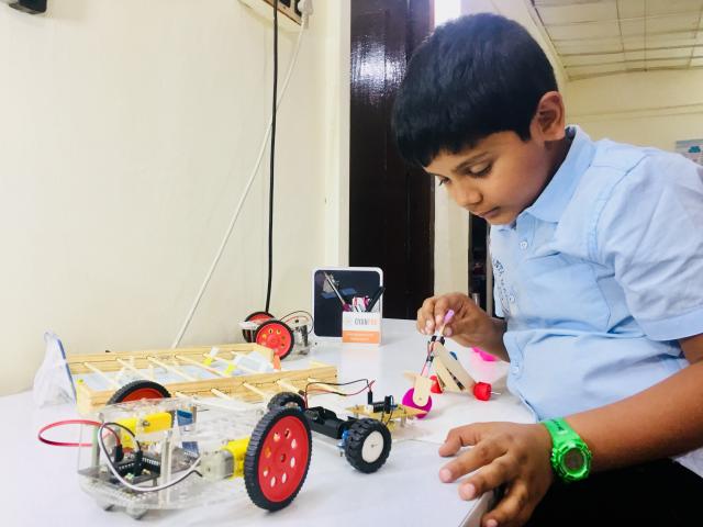 Innovative Electronics and Robotics Workshops JAYANAGAR