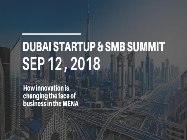 Dubai Startup and SMB Summit 2018
