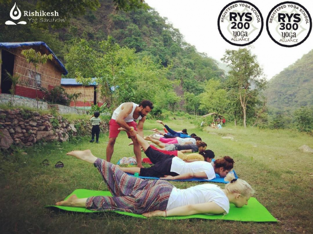 300 Hour Yoga TTC Course In Rishikesh