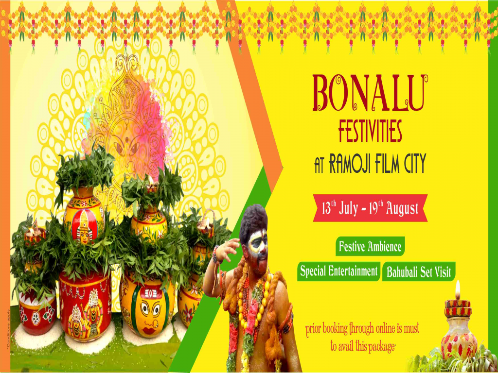Bonalu Festives Day Tour at Ramoji Film City