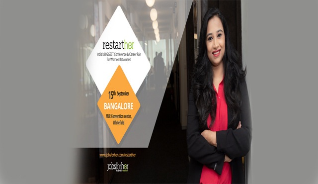 RestartHer Conference - Premium Conference for Women Returnees - Bangalore