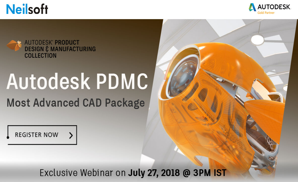 Exclusive Webinar  on Autodesk PDMC- Most Advanced Cad Package