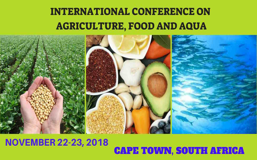 INTERNATIONAL CONFERENCE ON AGRICULTURE,FOOD AND AQUACULTURE