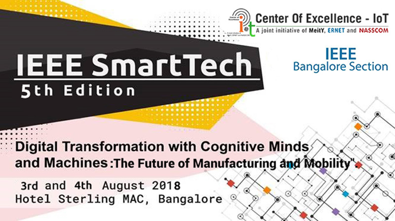 IEEE SmartTech, 5th Edition - The Future of Manufacturing and Mobility