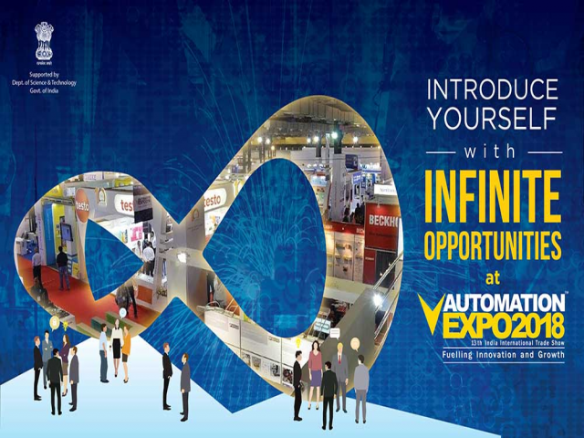 IoT in India - Automation Expo 2018 INDUSTRIE 4.0 & IIOT
