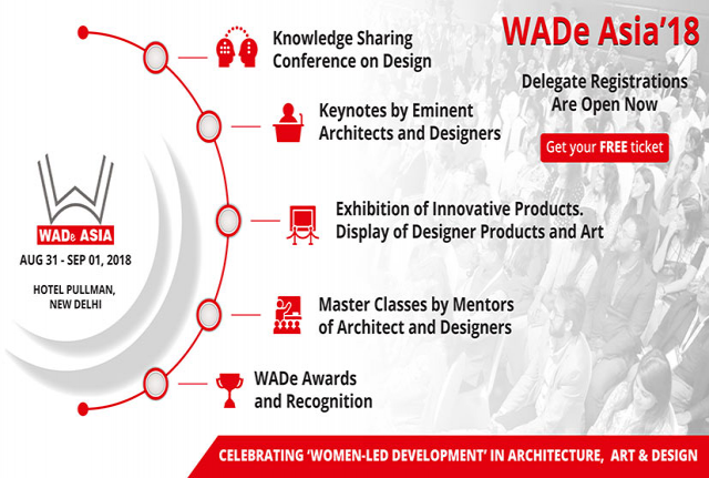 WADe ASIA 2018- Celebrating Women-Led Development in Architecture, Art and Desig