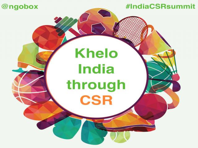 Khelo India through CSR