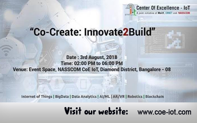 Co-Create : Innovate2build - IoT in India