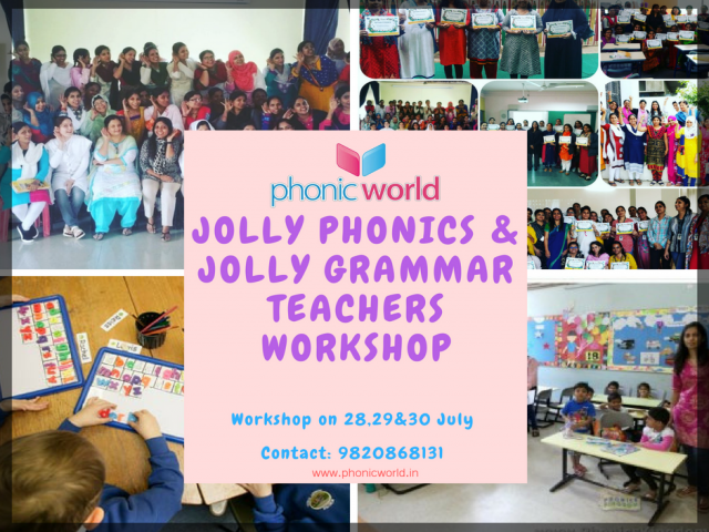 Jolly Phonics and Jolly Grammar teachers Workshop