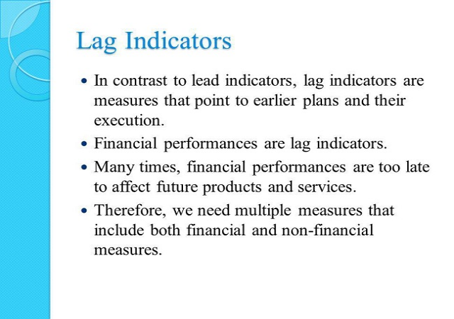Developing Right Metrics Connecting Lead & Lag Indicators