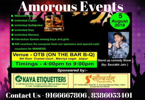 Friendship Day Special party - Amorous Events