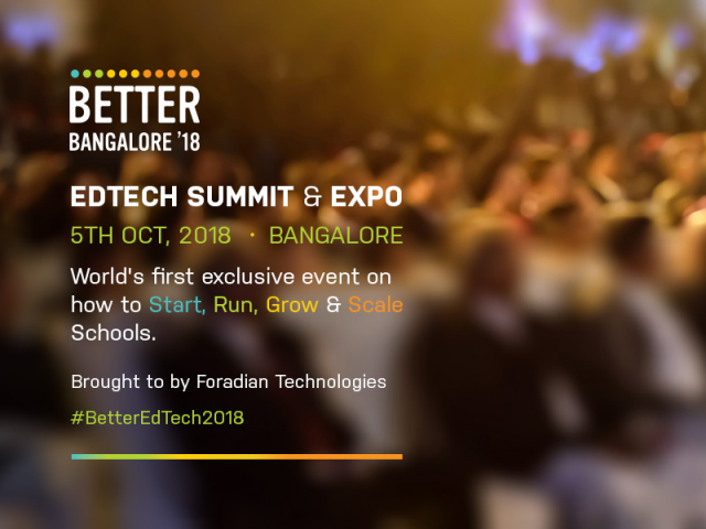 BETTER2018: EdTech Summit and Expo