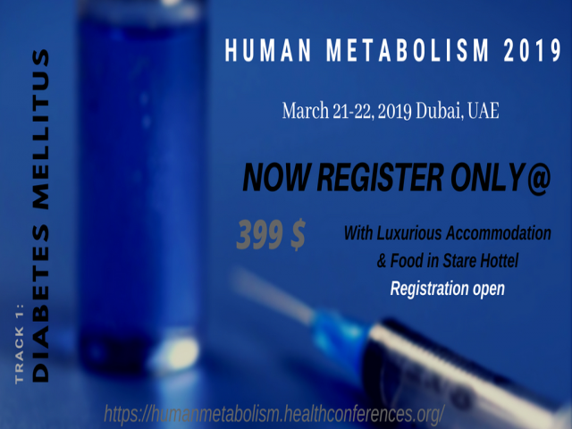 25th International Conference on Human Metabolic Health- Diabetes, Obesity & Met