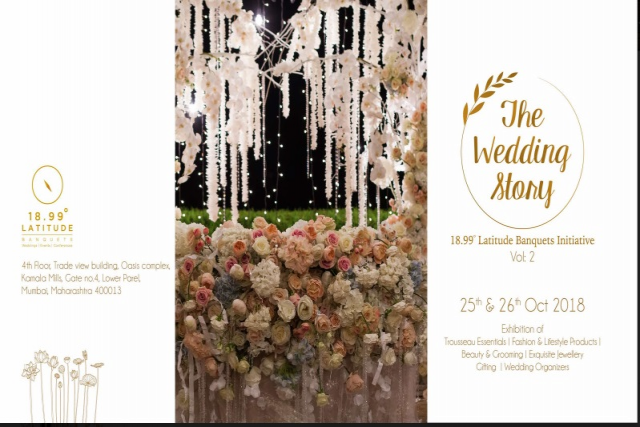 The Wedding Story Vol- 2 on 25th and 26th October 2018 in Mumbai