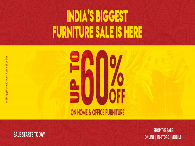 Shop Home & Office Furniture At Durian & Save Upto