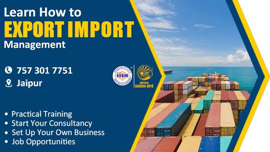 Start - Set up Your Own Import - Export Business At Jaipur