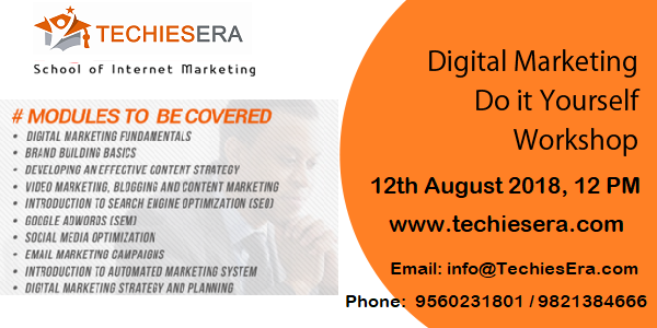 Digital Marketing Workshop in Noida at TechiesEra
