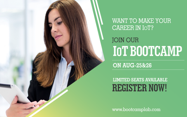 IoT Classroom training on 25th and 26th August