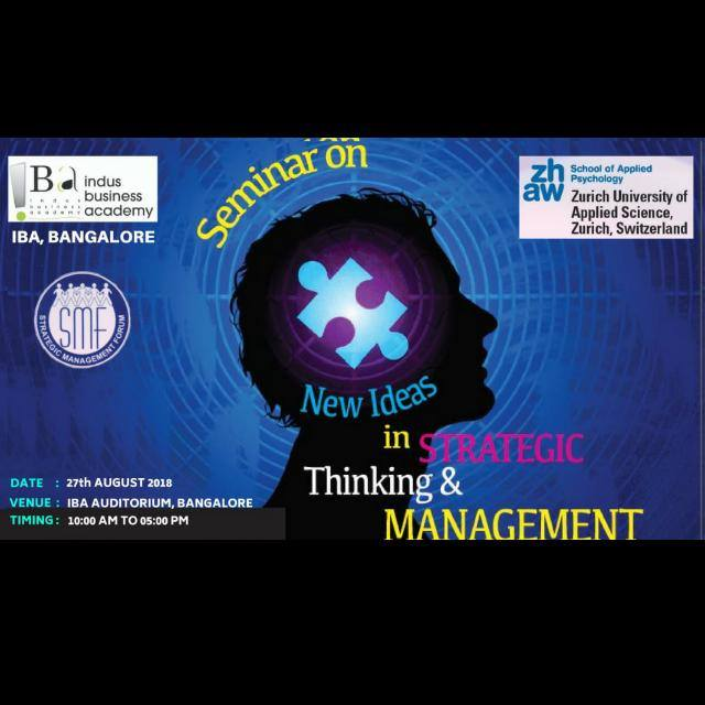 NEW IDEAS IN STRATEGIC THINKING AND MANAGEMENT
