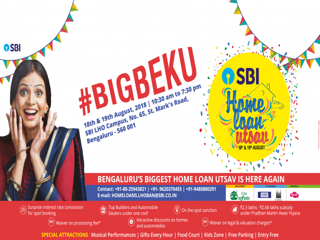 SBI HOME LOAN UTSAV - 2018