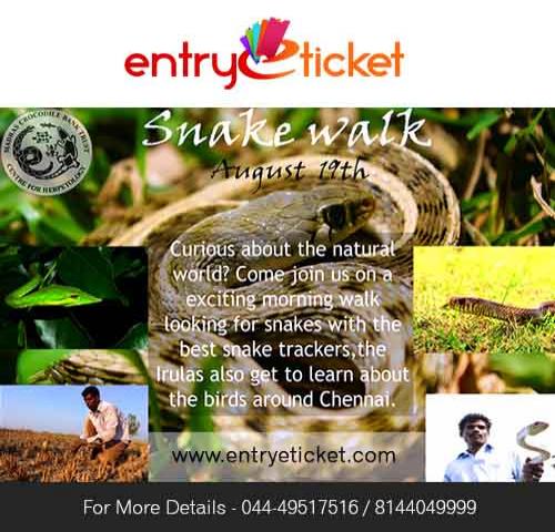 SNAKE WALK 2018 | Entryeticket