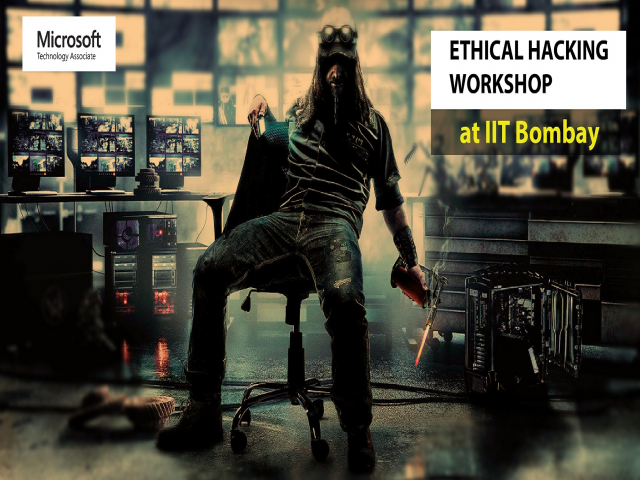 Ethical Hacking Workshop at IIT Bombay