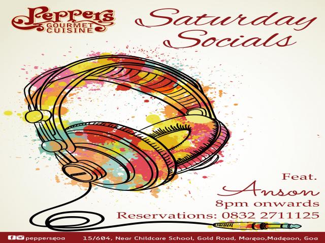 Saturday Socials 18th August 2018