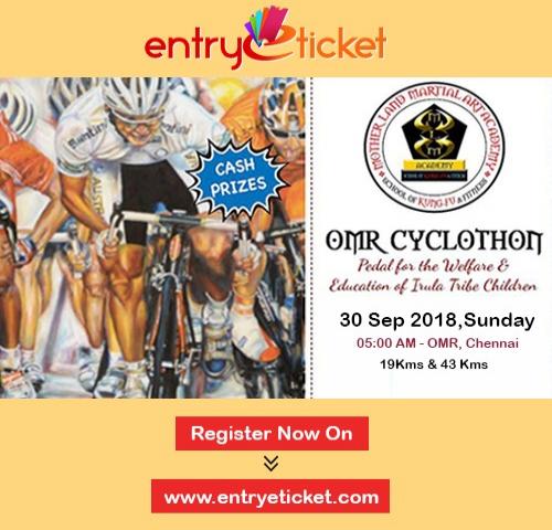 OMR CYCLOTHON 2018 | Entryeticket