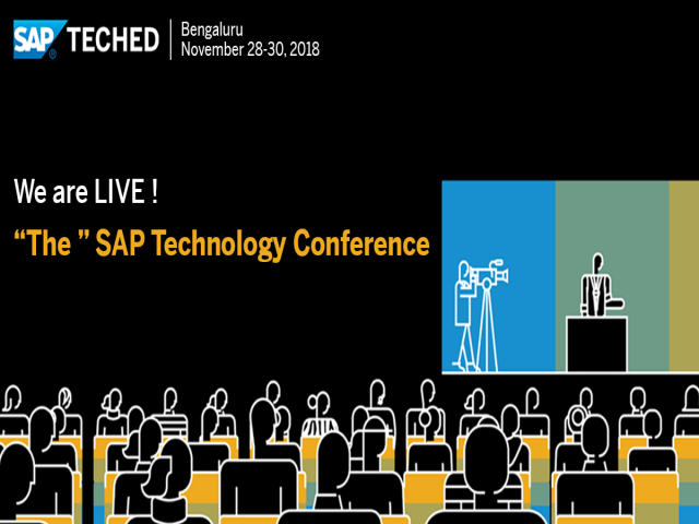 SAP TechEd 2018 Bangalore