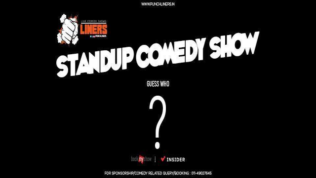 Punchliners: Standup Comedy Show in Jaipur