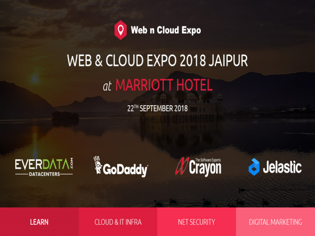 WEB & CLOUD EXPO 2018 JAIPUR