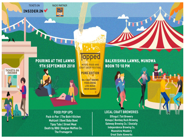 Tapped - Music, Food & Craft Beer Festival - Pune Edition