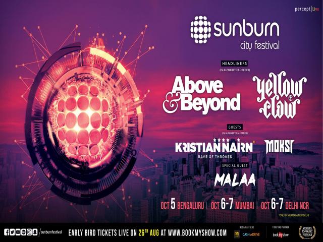 Sunburn City Festival - Delhi NCR