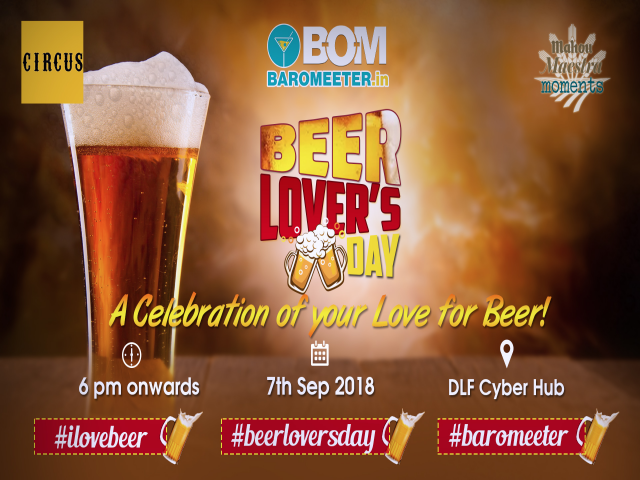 Beer Lover's Day on 7th Sept