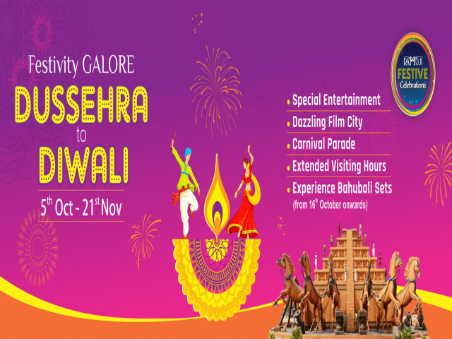 Dussehra to Diwali Celebrations at Ramoji Film City