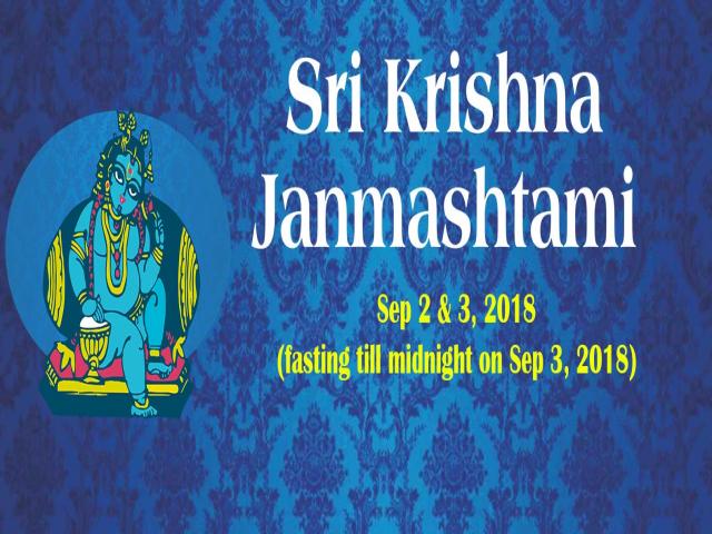 Sri Krishna Janmashtami at ISKCON Hare Krishna Hill